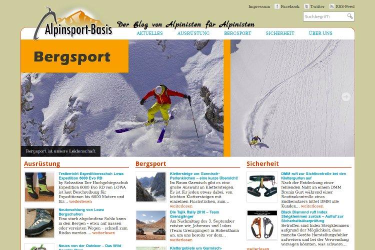 Referenz Alpinsport-Basis