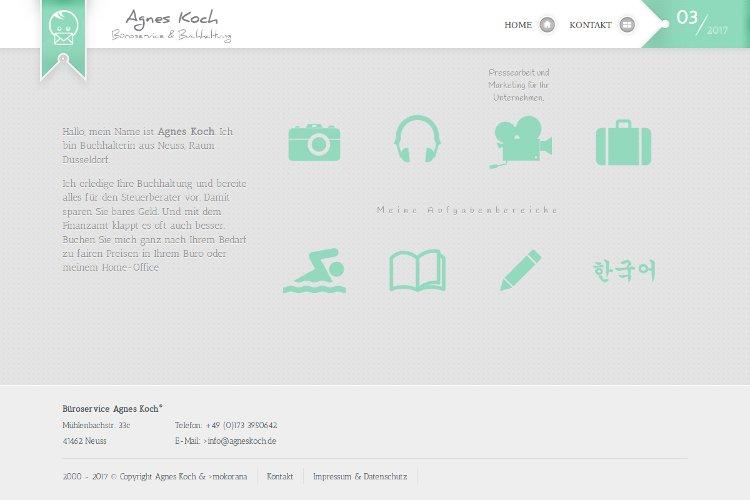 Referenz Büroservice AgnesKoch